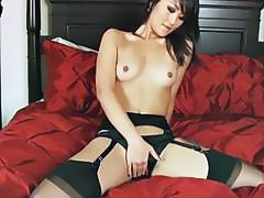 Christina Zhang Audition for Porn with Anal Creampie and Stockings