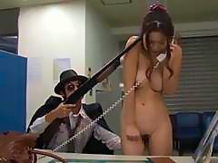 Wicked gangbanging for a and unrepining hottie