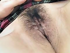 Asian bitch has a fat one to lick on