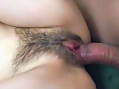 Hardcore threesome along small tits babe eager to fuck