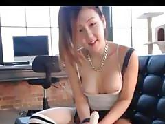 JOI Handjob From Hot Asian Webcam Girl