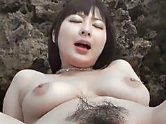 Curvy MEgumi Haruka loves hard fucking in outdoor scenes