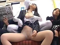 Preggo darling receives a nasty pussy drilling