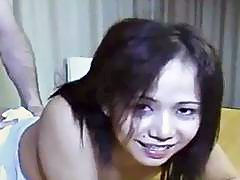 Valery Filipino Teen Student Amateur Gets Hammered On Desk