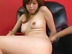 Emiri Senoo has nipples squeezed and gets vibrator