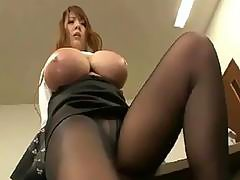 Big tits Japanese will tease you horny