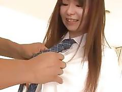 Naosima endures cock in her vag during class hours