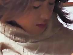 Kayoko Uesugi rubs her pussy and hard dick
